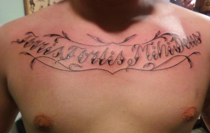 Christian Tattoos Bible Verse