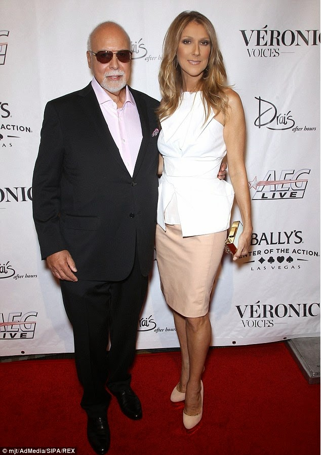 Celine Dion's husband Rene Angelil retires as her manager after 30 years