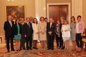 Entrega del premio a la Acción Magistral 2013