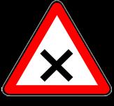 Intersección con Prioridad de la Derecha - Señal P2