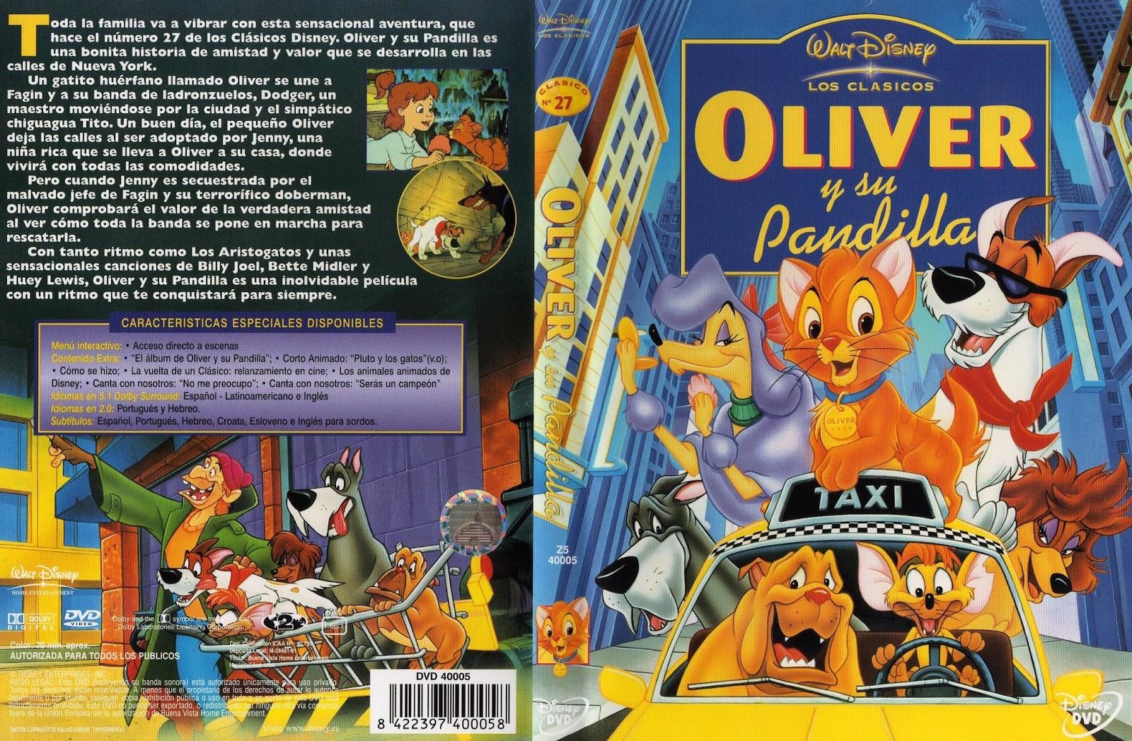 Oliver y su pandilla ( 1988 ) DescargaCineClasico.Net