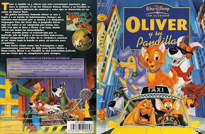 Cover, dvd, carátula: Oliver y su pandilla | 1988 | Oliver & Company