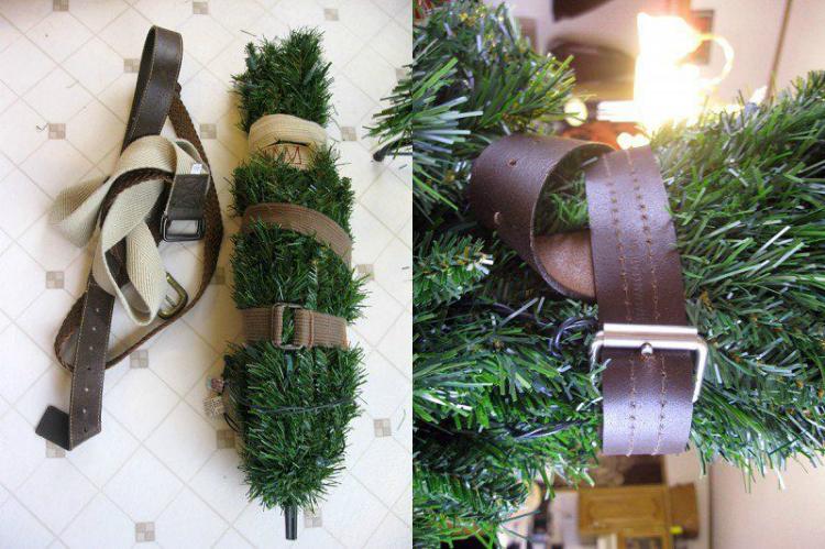 Ideas para almacenar adornos navideños / almacenar la Navidad by Habitan2
