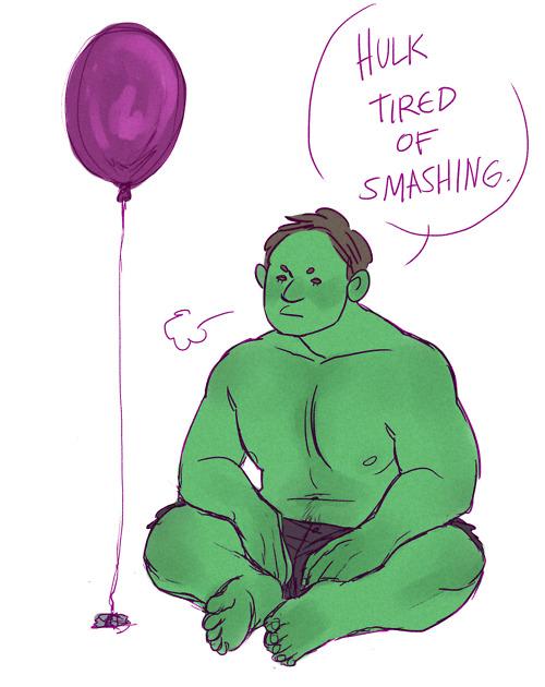 Hulk por a bloo bloo bloo