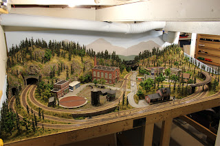 Ty's Model Railraod layout on February 21st, 2013
