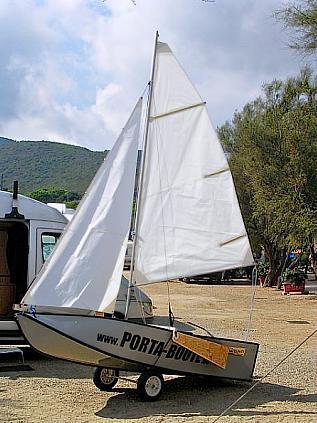 Pieghevole o smontabile terraferma sailors - Barca porta bote ...