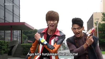 Ultraman Ginga S Movie Showdown! The 10 Ultra Warrior Subtitle Indonesia