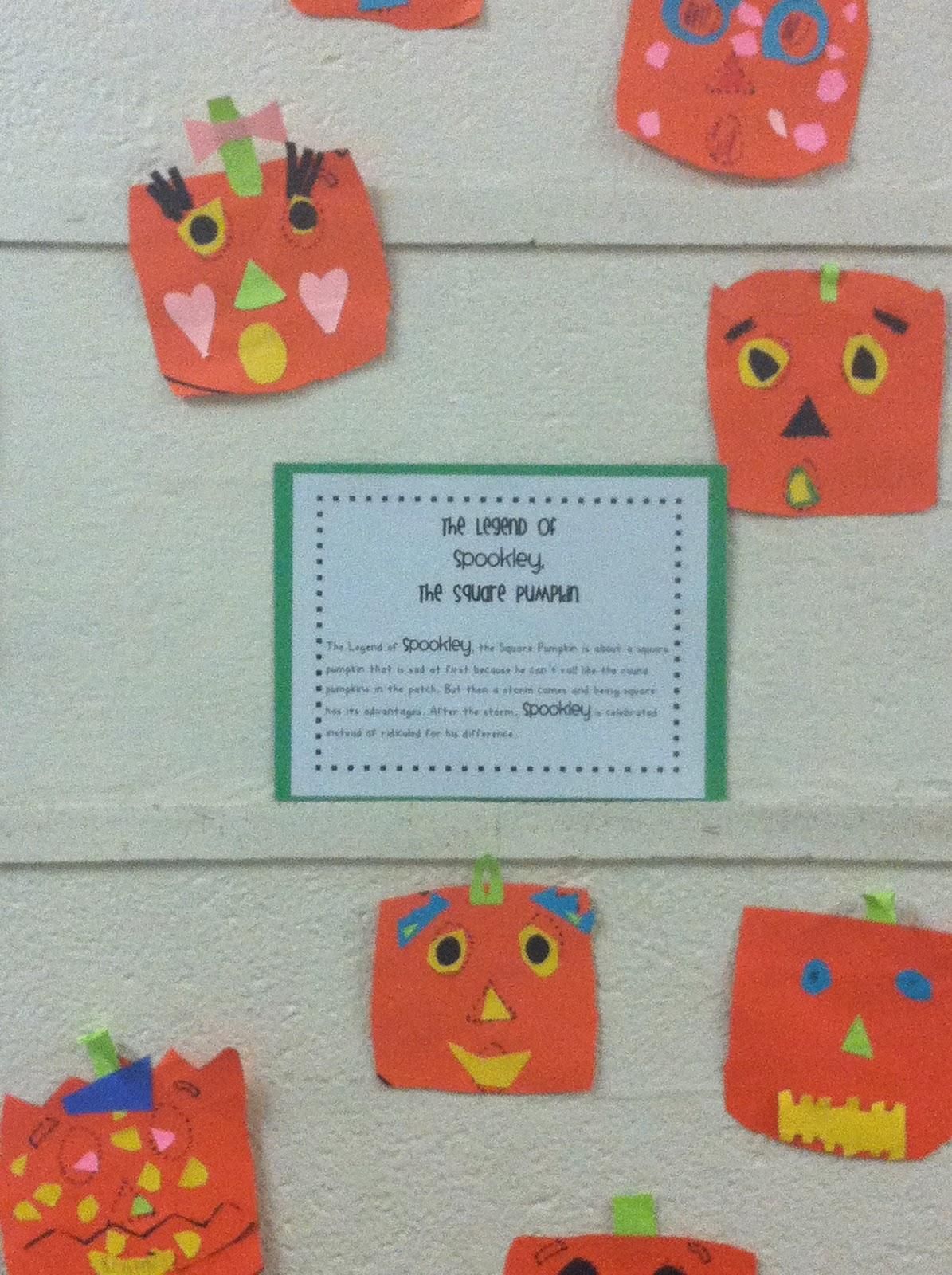 mrs brinkman u0027s blog spookley the square pumpkin