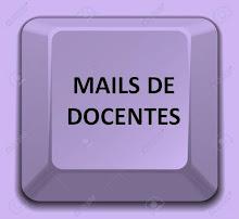 MAILS DE DOCENTES