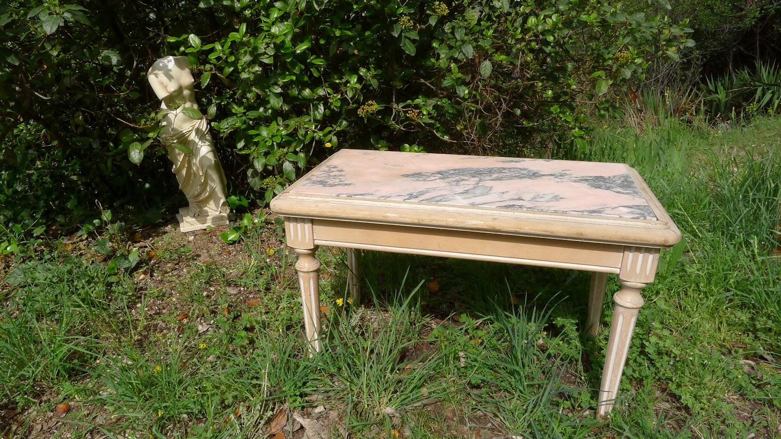 Table en bois occasion meilleures ventes boutique pour for Table en marbre occasion
