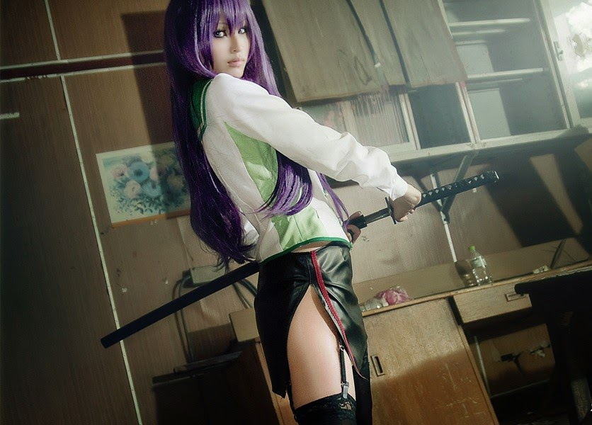 Highschool of the Dead - Saeko Busujima