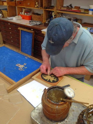 Treasure Box - Series #2 - Post #19: Finishing the insides and glueing the boxes