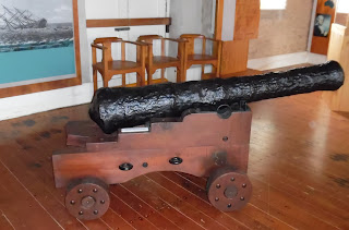 Cannon from the HMS Bounty