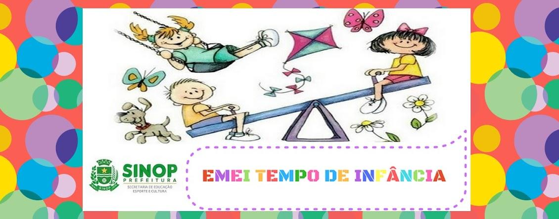 E.M.E.I TEMPO DE INFÂNCIA