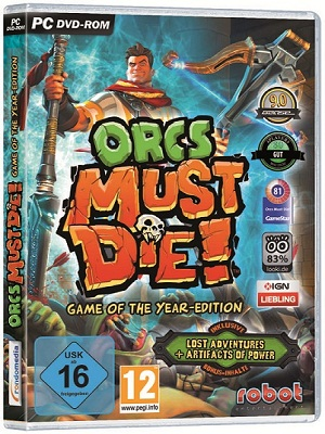 Capa Orcs Must Die: Game of the Year Edition PC Full 001