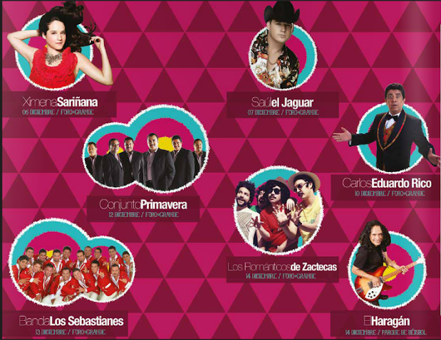 artistas feria guadalupe 2013