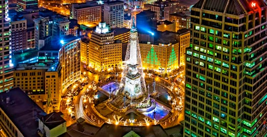 Tree of knowledge of good and evil physical location bcd for Christmas tree lighting indianapolis 2015