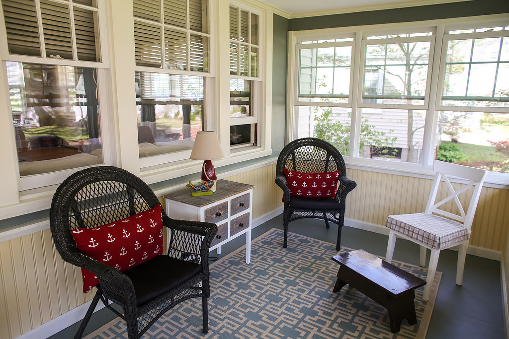 Relax on a porch!