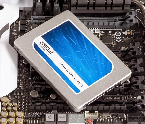 Crucial BX1000 1TB SSD