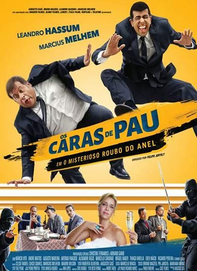 Download Os Caras de Pau em O Misterioso Roubo do Anel AVI + RMVB DVDRip Torrent