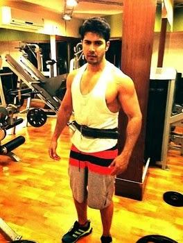 Varun Dhawan Gym Worko...