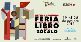 Décima Segunda Feria Internacional del Libro en el Zócalo