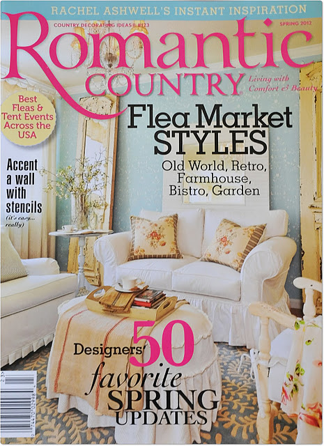 Cynthia 39 s cottage design romantic country for Spring cottage magazine
