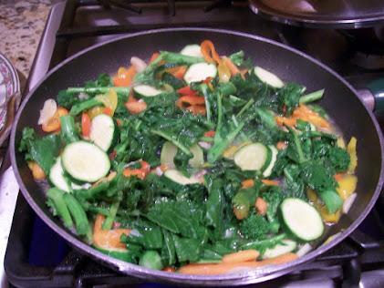 Delicious Broccoli Rabe & zucchini