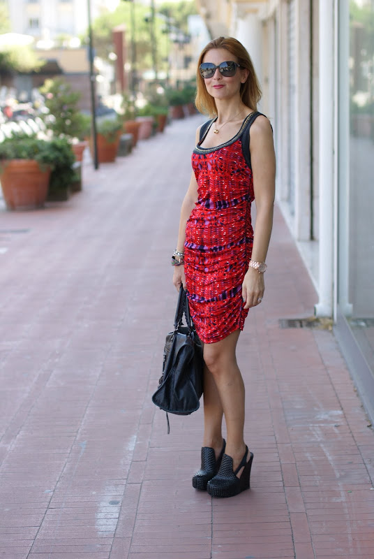 Custo sleeveless dress