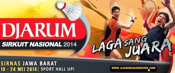 Hasil Pertandingan Djarum Sirkuit Nasional Jabar Open 2014