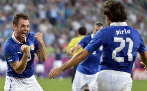 Foto Italia vs Irlandia