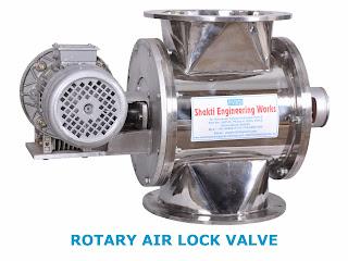 Rotary Airlock Valve with motor