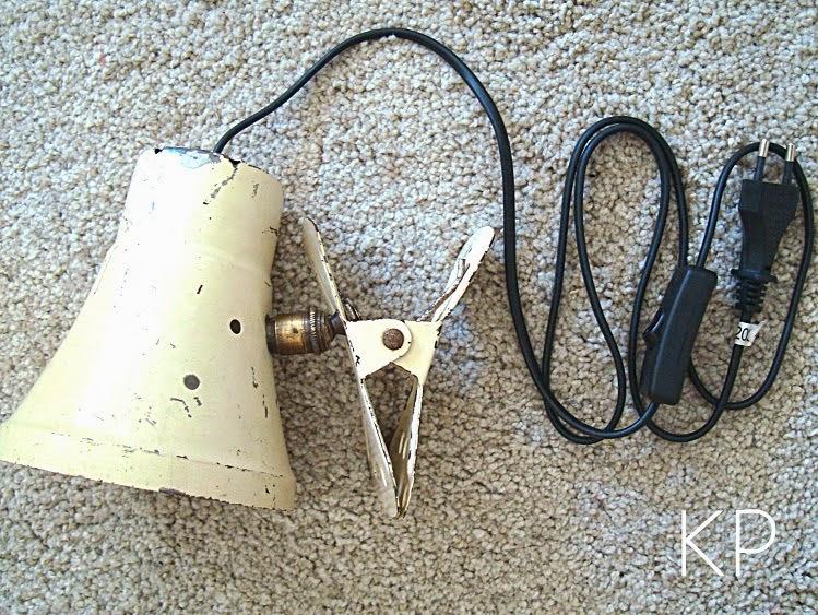 Flexo pinza restauracion lamparas focos antiguos originales baratos valencia
