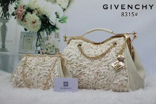 Tas KW Givenchy Miracle Flower Set 2in1 8315AR Jakarta
