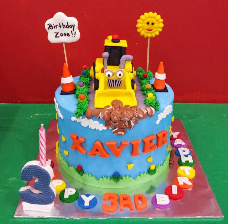 Yochanas Cake Delight! : Xavier turns 3 !!