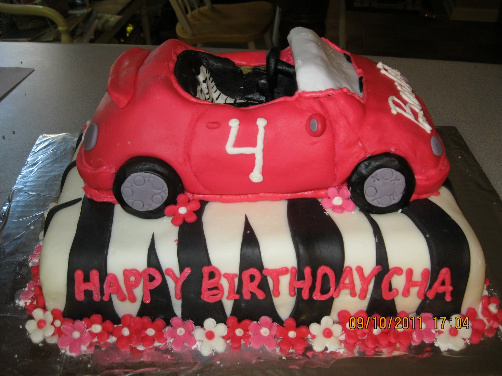 Melissas Cakes Barbie Car And Cookies September 2011