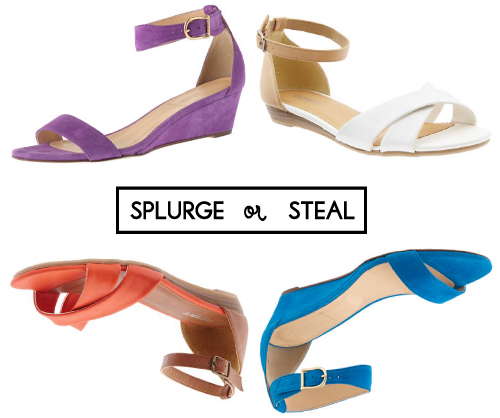 StyleAndPepperBlog.com : : Splurge or Steal // Ankle-strap Sandals