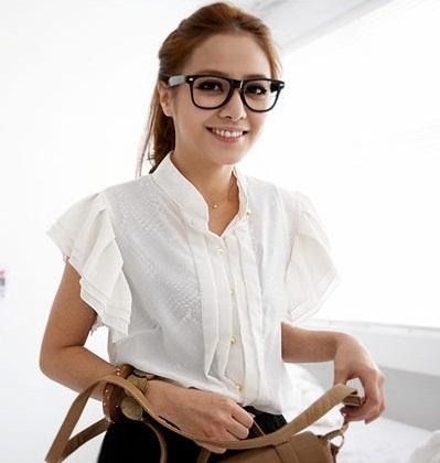 Korean Style : Kemeja Putih