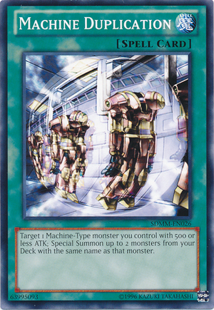 http://yugioh.wikia.com/wiki/Machine_Duplication