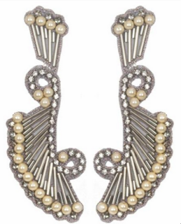 Delphi Drop Earrings - as seen on Blake Lively - by Suzanna Dai via Boticca