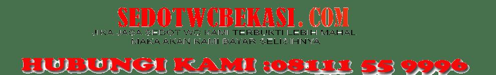 Cari Jasa Sedot WC Bekasi Call 02194939780