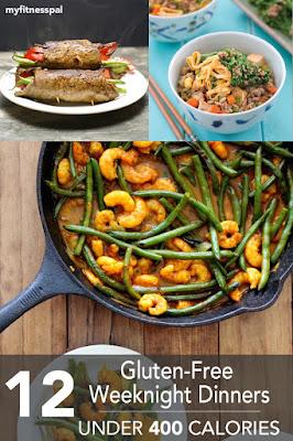 http://blog.myfitnesspal.com/12-gluten-free-weeknight-dinners-under-400-calories/?utm_source=mfp&utm_medium=email&utm_campaign=weekly20150302&mkt_tok=3RkMMJWWfF9wsRokuaXKZKXonjHpfsX56%2B4tXa6wiokz2EFye%2BLIHETpodcMTsBiPa%2BTFAwTG5toziV8R7DBLM153N8QXRTg