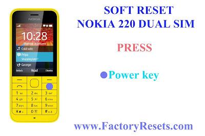 Soft Reset Nokia 220 Dual SIM