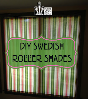 DIY Swedish Roller Shades