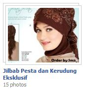 Jilbab Pesta, Kerudung Eksklusif dan Hijab Cantik