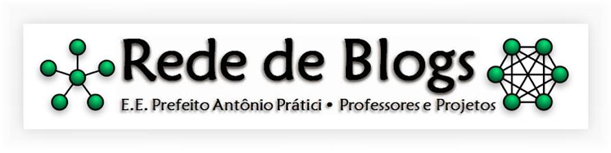 ((( Rede de Blogs - E.E. Prefeito Antônio Prátici )))