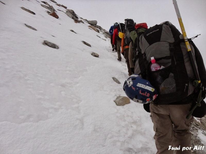escalada ao huayna potosi 2013