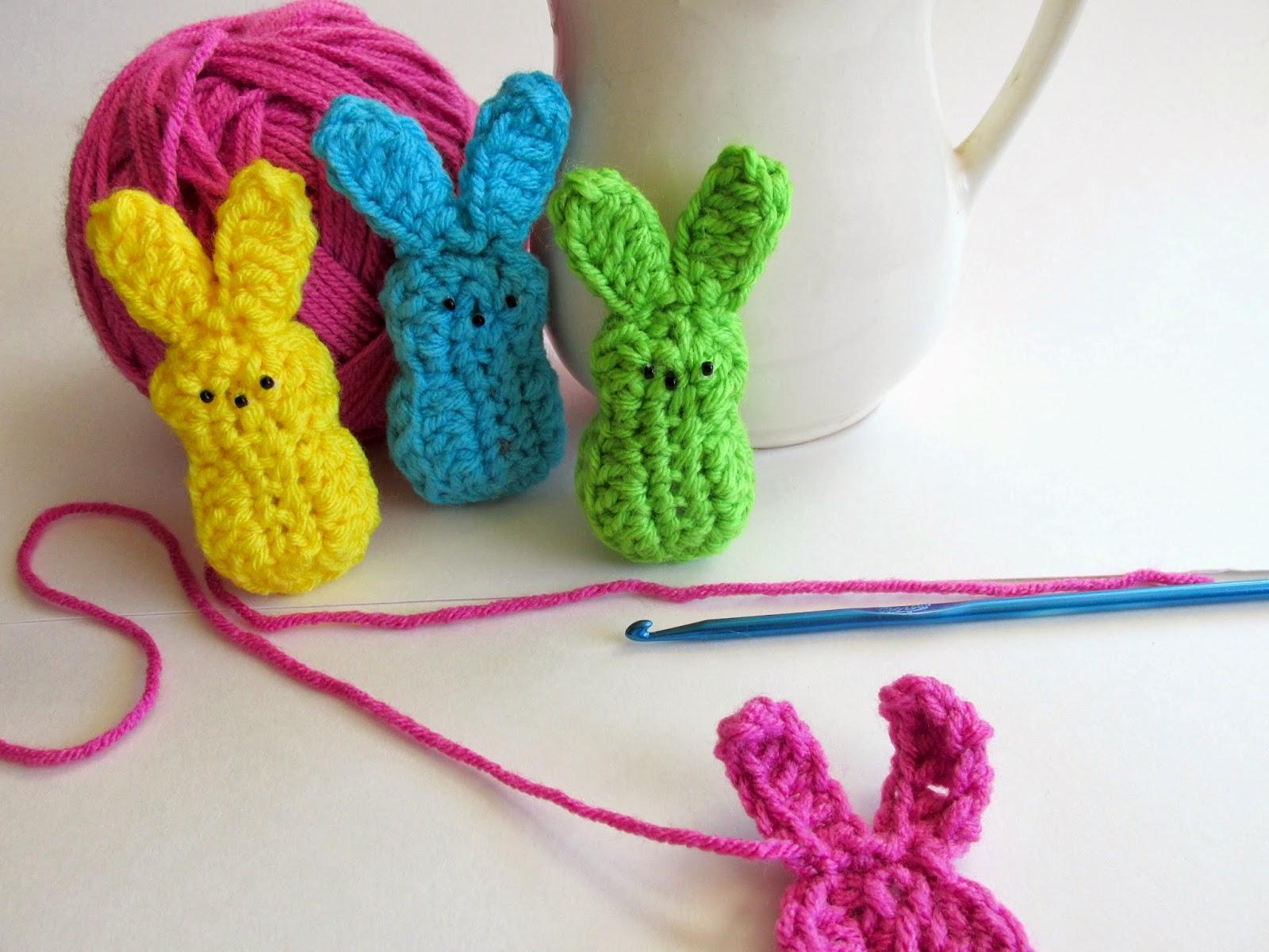 Crochet Marshmallow Peeps