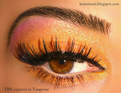 Tangerine Make UP