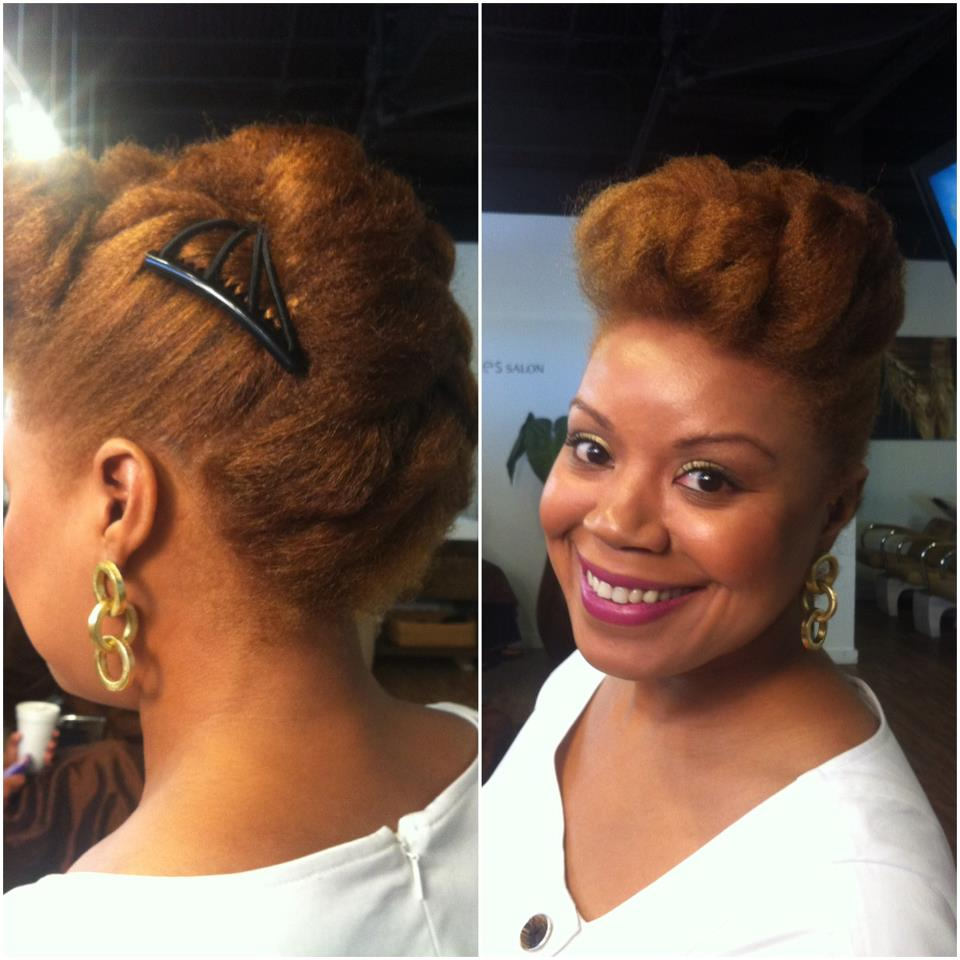 Simple Hairstyles For Natural N Hair : Easy natural hairstyles inspiration